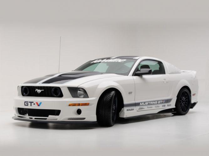 Roush Ford Mustang GT-V 2008 wallpaper