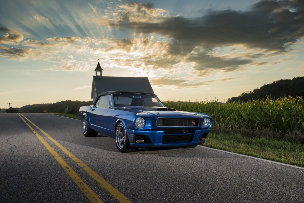 Ringbrothers Ford Mustang Convertible Ballistic 1965 2015 wallpaper