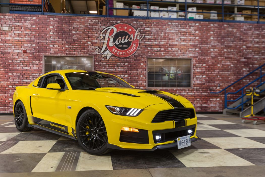 Roush R2300 Blue Oval Edition 2015 wallpaper