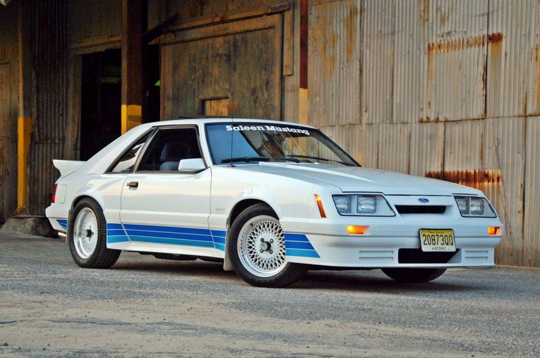 Saleen Ford Mustang 1985 wallpaper
