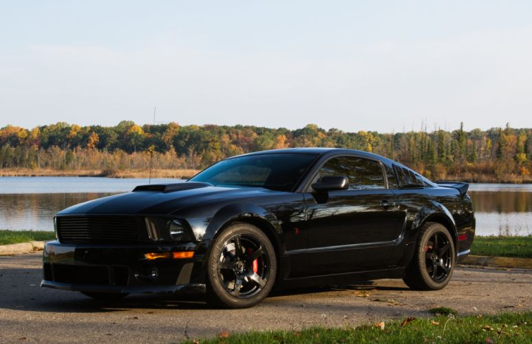 Roush Stage 3 BlackJack 2008 wallpaper