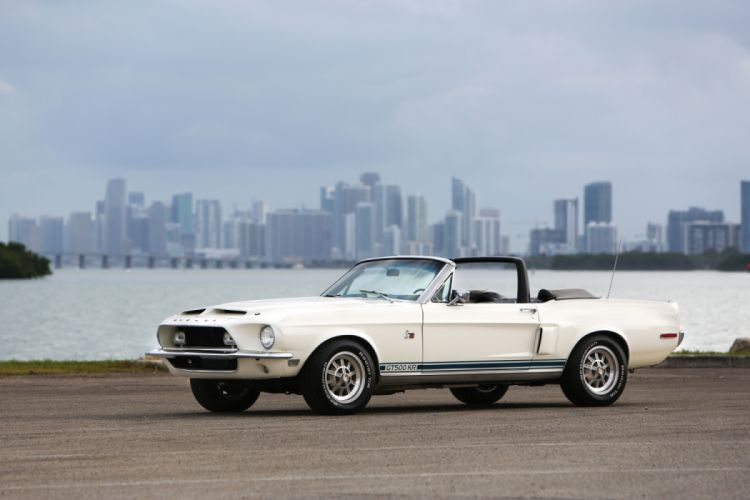Shelby GT500 KR Convertible 1968 wallpaper
