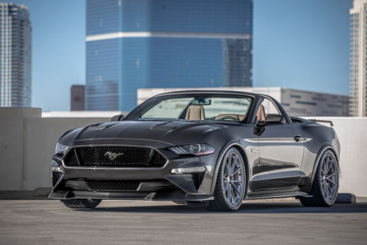 Speedkore Ford Mustang Convertible 2017 wallpaper
