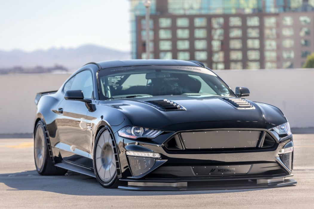Tucci Ford Mustang Fastback 2017 wallpaper