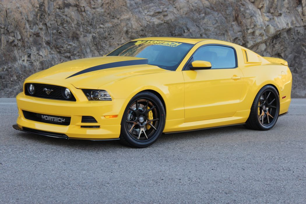 Vortech Ford Mustang 5 0 GT Yellow Jacket 2014 wallpaper