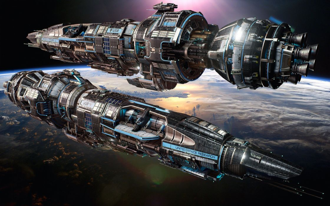 FRACTURED SPACE space combat action fighting futuristic 1fspace spaceship sci-fi shooter mmo tactical strategy mmo online technics battleship warship wallpaper