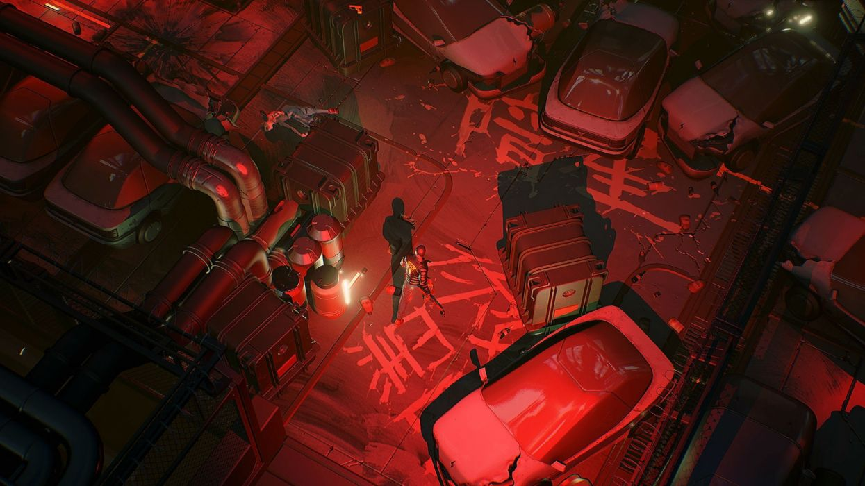 RUINER cyberpunk sci-fi futuristic action shooter fighting fps dark wallpaper