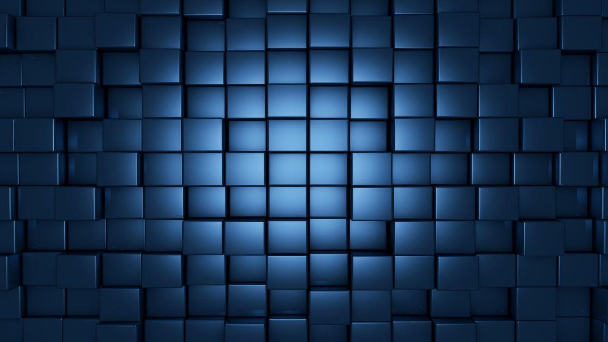 Blue Texture cuadritos wallpaper