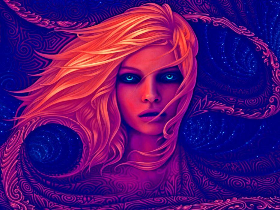 Fantasy Girl Artwork wallpaper