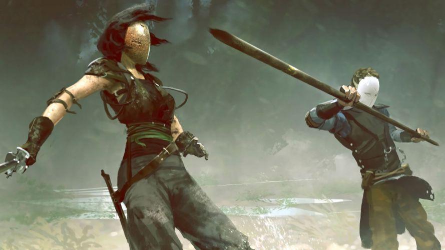 ABSOLVER martial arts kung fantasy action fighting rpg warrior online wallpaper