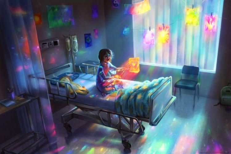 children toys interior medicine objects drawings technics fantasy wallpaper
