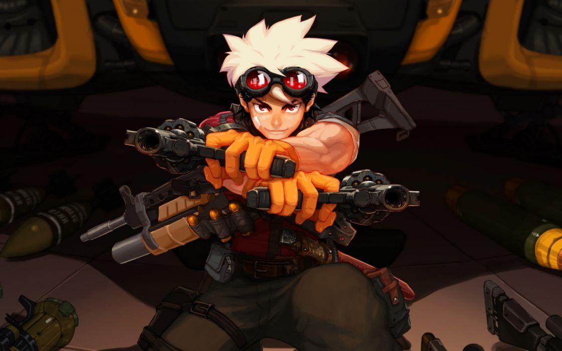 boy weapon Games Metal Assault wallpaper