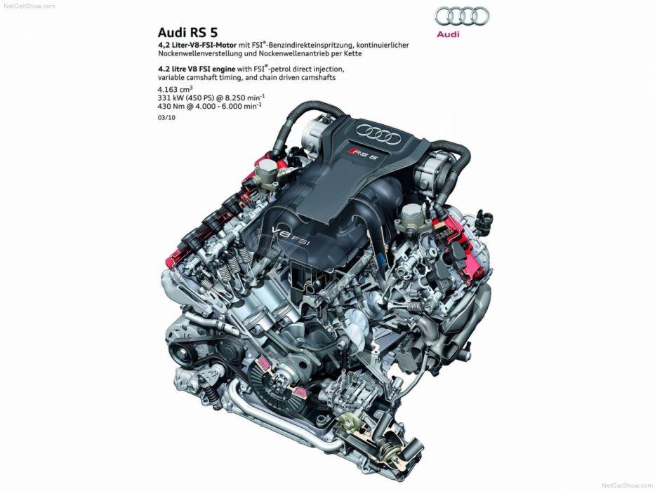 Audi RS5 2011 Engine wallpaper