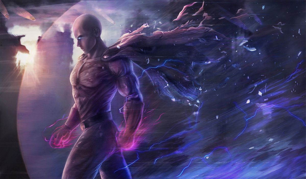 Anime Saitama One Punch Man wallpaper
