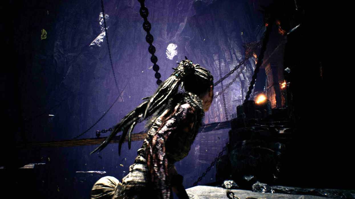 HELLBLADE warrior fantasy action fighting dark horror adventure survival puzzle wallpaper