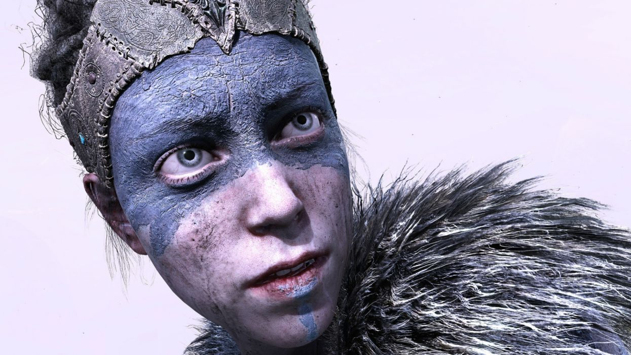 HELLBLADE warrior fantasy action fighting dark horror adventure survival puzzle wallpaper