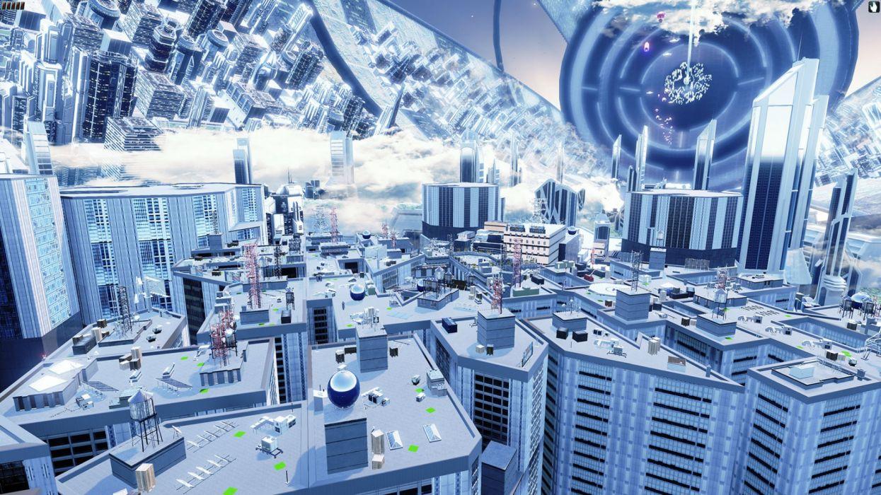 SPACE COLONY rts strategy sci-fi futuristic 1colony simulation technics colonization video game adventure exploration city cities detail wallpaper