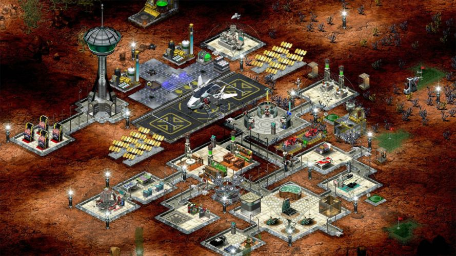 SPACE COLONY rts strategy sci-fi futuristic 1colony simulation technics colonization video game adventure exploration city cities detail wallpaper