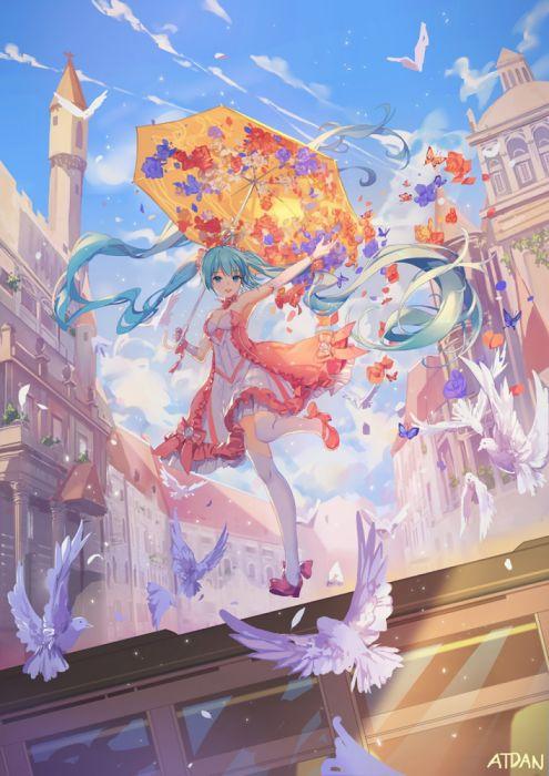 vocaloid miku anime girl beauty wallpaper