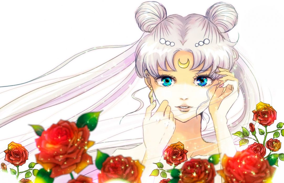 princess serenity bishoujo senshi sailor moon anime girl character beautiful wallpaper