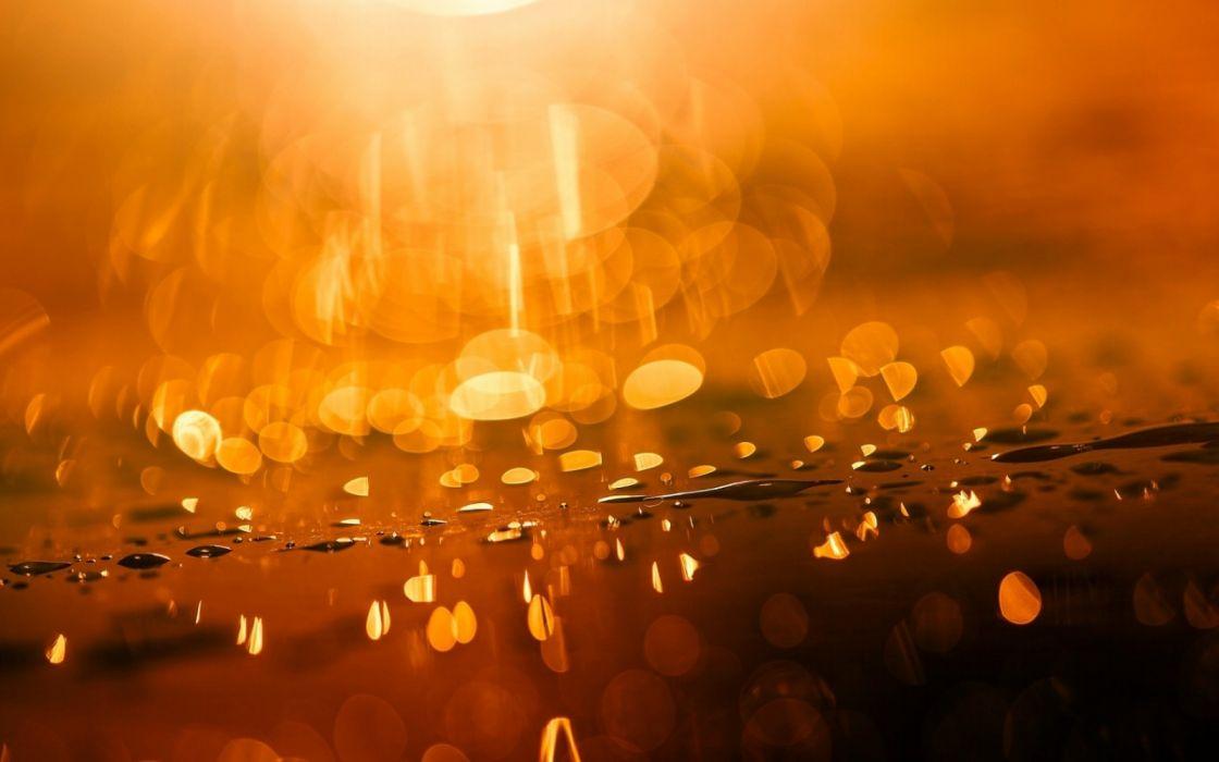light texture beauty gold water drop wallpaper