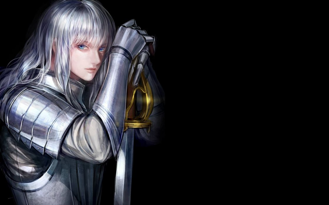 fantasy woman face beautiful blue eyes sword warrior wallpaper