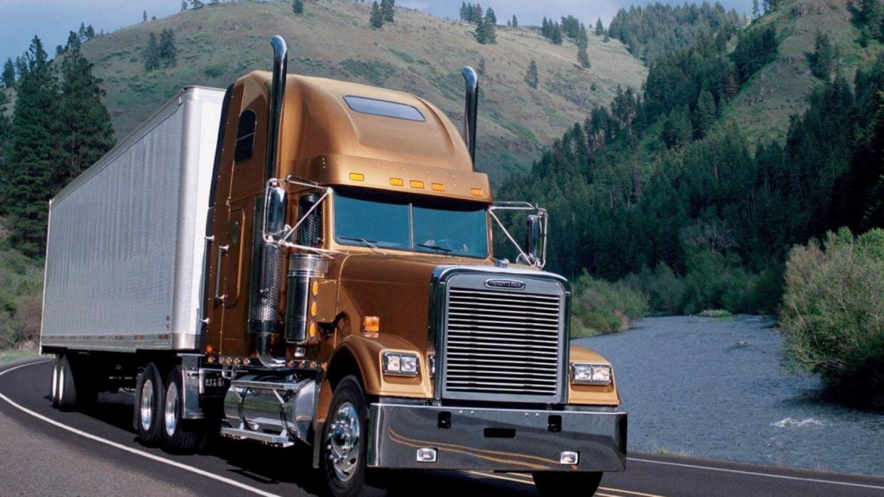 camion frigorifico carretera wallpaper
