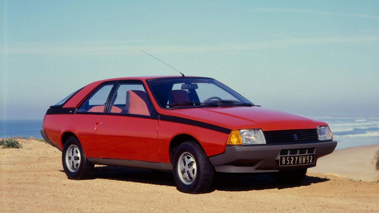 coche renault fuego rojo wallpaper