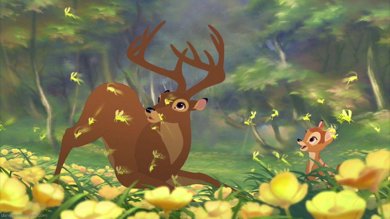 bambi cartoon deer cute wallpaper