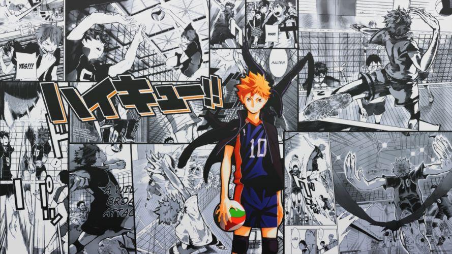 Shoyo Hinata Haikyuu Anime Volleyball 1920x1080 wallpaper