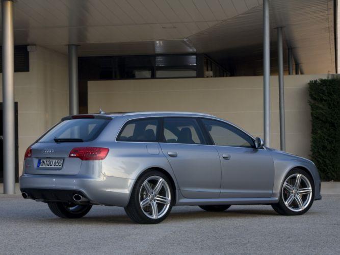 Audi RS6 Avant 4F-C6 2008 wallpaper