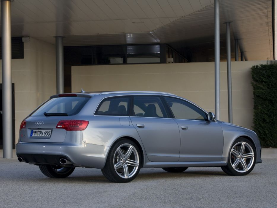 Audi RS6 Avant 4F-C6 2008 wallpaper