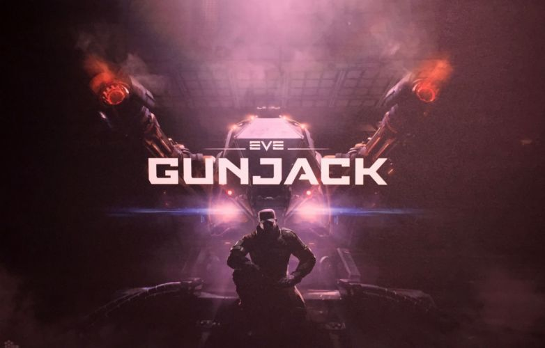 EVE GUNJACK space combat action fighting futuristic spaceship sci-fi shooter mmo tactical strategy mmo online technics virtual reality wallpaper