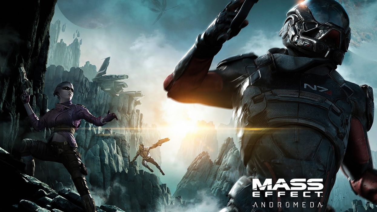MASS EFFECT action fiction fighting futuristic game sci-fi shooter space tactical technics wallpaper