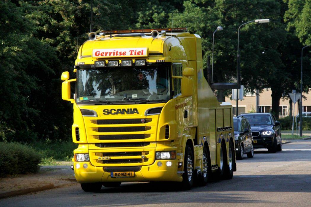 Scania R730 wallpaper