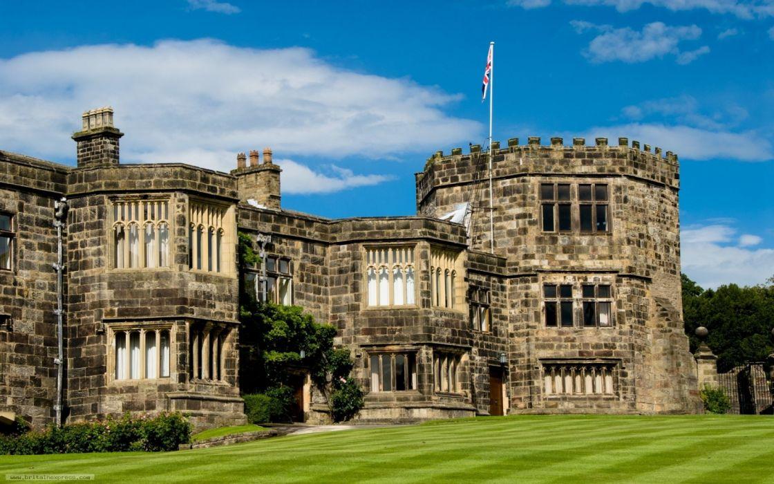 skipton castillo britanico arquitectura wallpaper