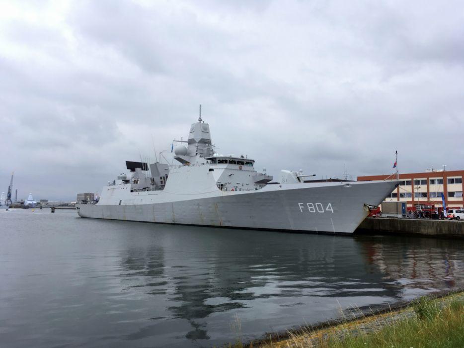 F804 Zr Ms De Ruyter Fregat Dutch Navy Den Helder 2017 wallpaper