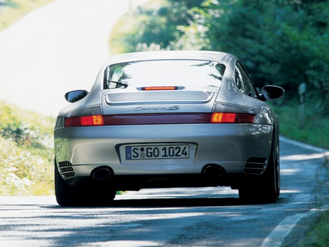 Porsche 911 Carrera 4S 996 MkII 2001 wallpaper