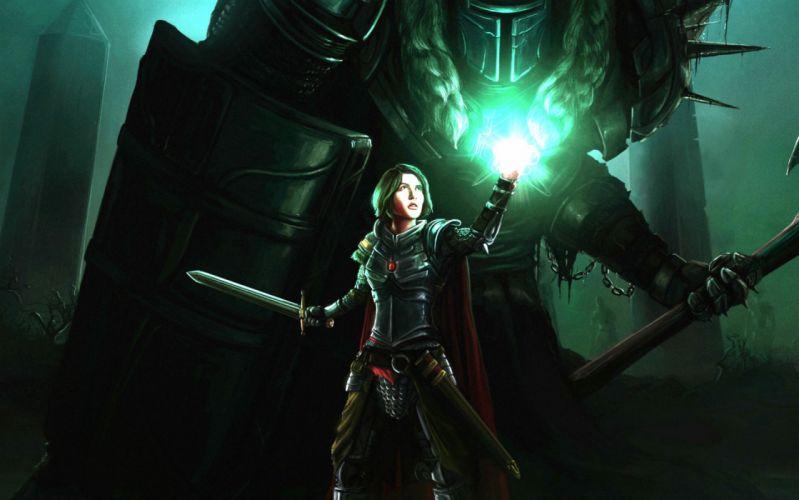 DARK SOULS action dark fantasy fighting rpg souls warrior dungeon demon wallpaper