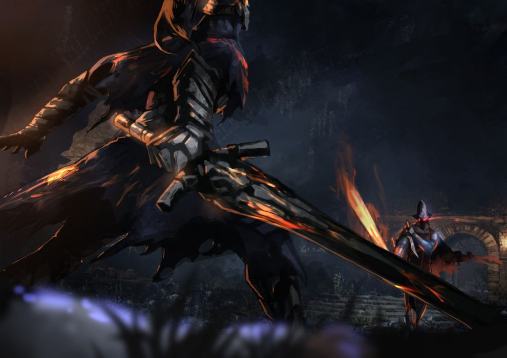 DARK SOULS action dark fantasy fighting rpg souls warrior dungeon demon wallpaper
