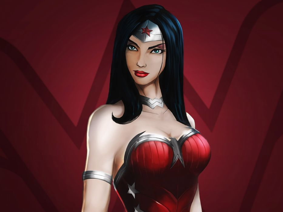 comic heroina morena wallpaper