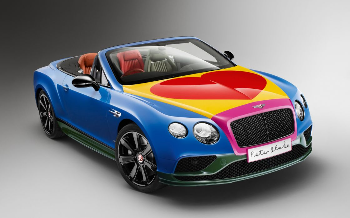 Bentley GT Pop-Art 2016 wallpaper
