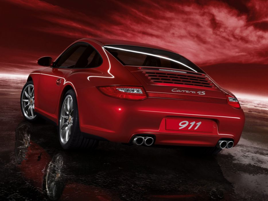 Porsche 911 Carrera 4S 997 MkII 2008 wallpaper