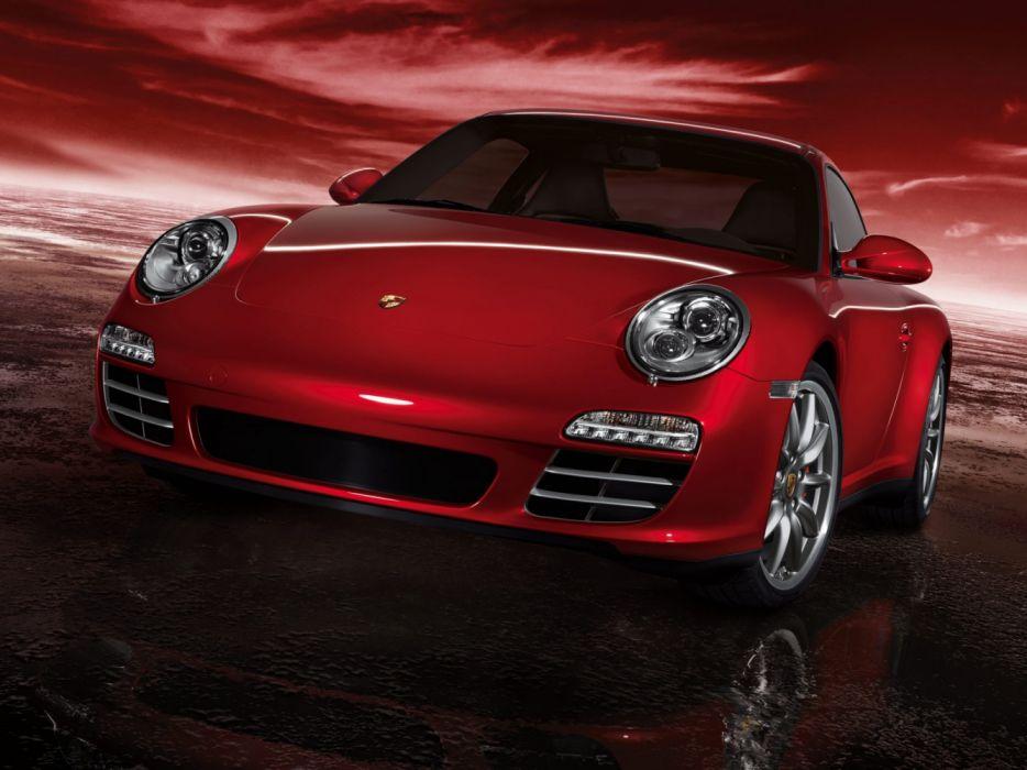 Porsche 911 Carrera 4S 997 MkII 2008 wallpaper