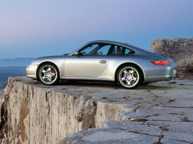 Porsche 911 Carrera 4S 997 MkI 2006 wallpaper