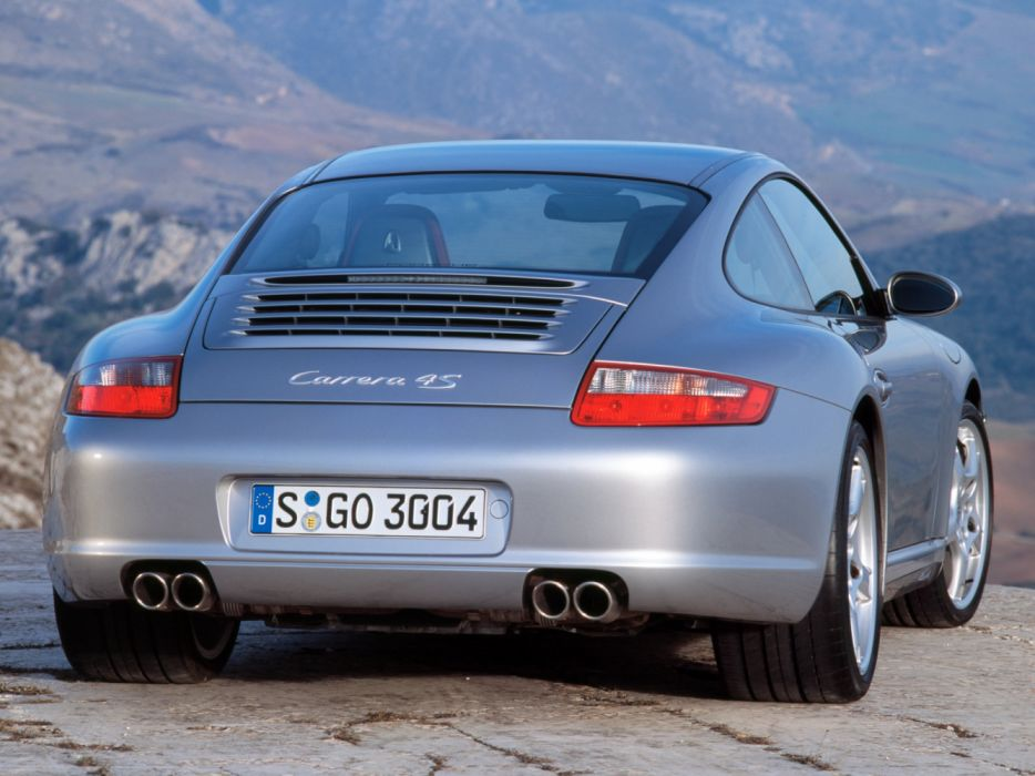 Porsche 911 Carrera 4S 997 MkI 2006 wallpaper