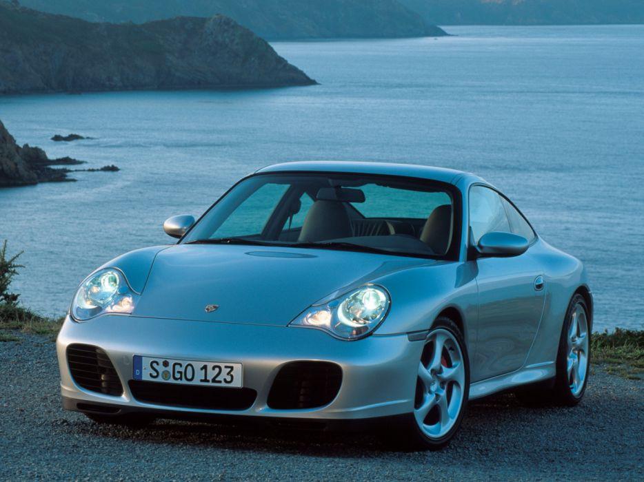 Porsche 911 Carrera 4S 996 MkII 2001 wallpaper