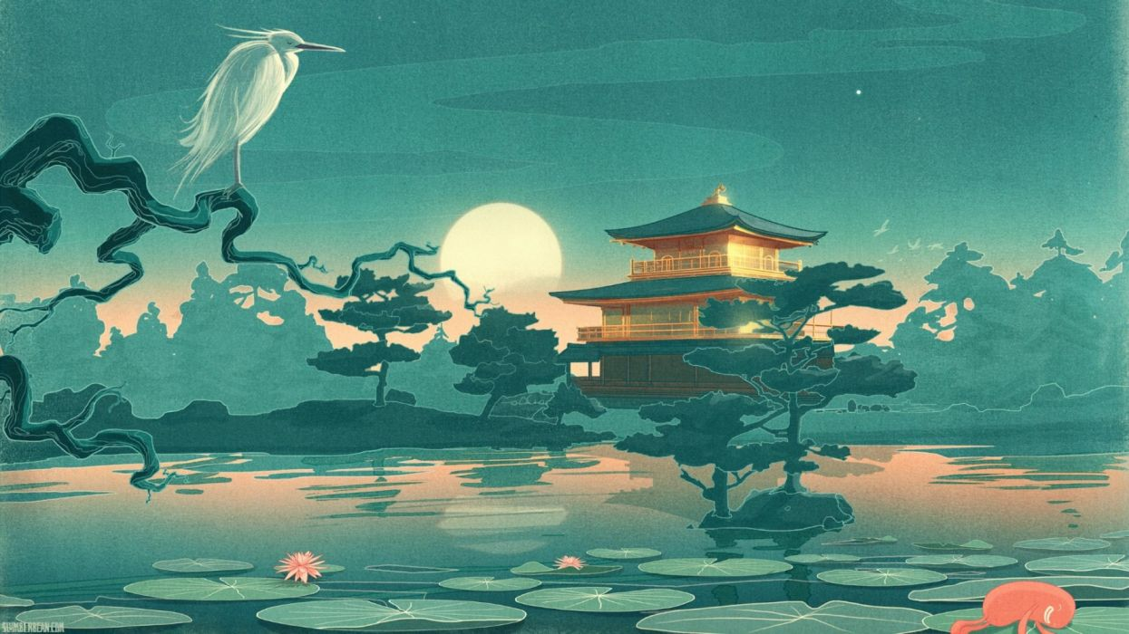 Asian Nights wallpaper