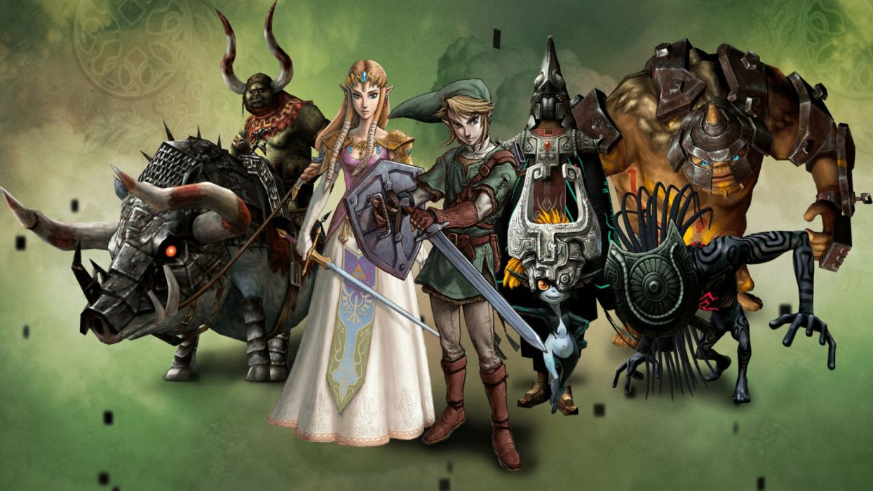 ZELDA action adventure fantasy legend nintendo platform puzzle densetsu nintendo wallpaper