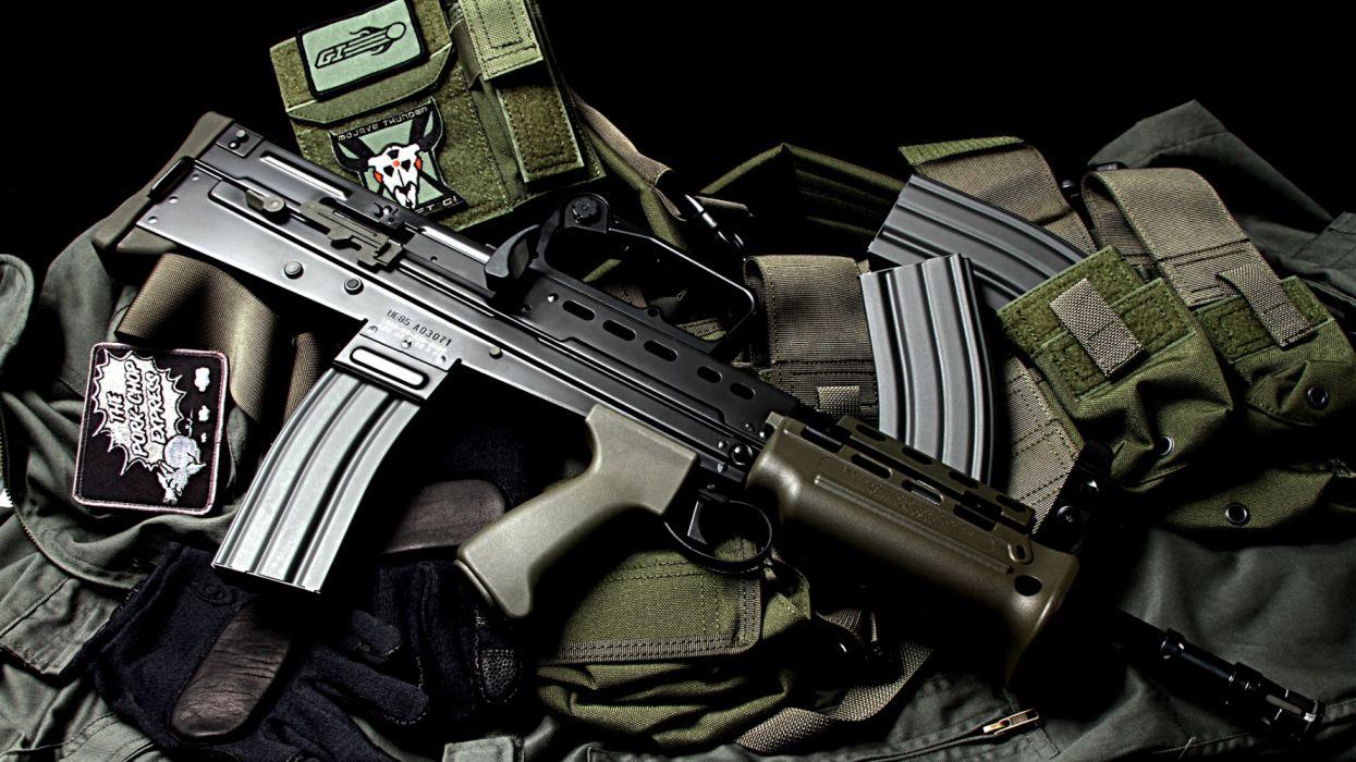 fusil asalto municion wallpaper